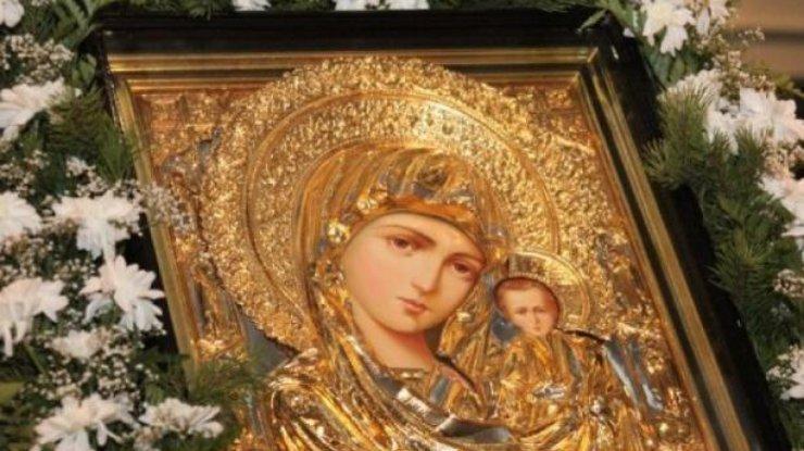 Казанская икона божией