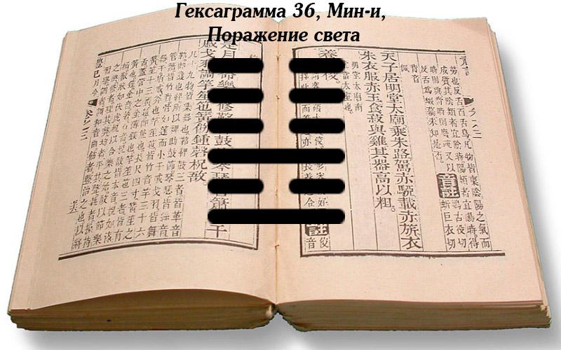 Описание гексаграммы 36 Мин-и
