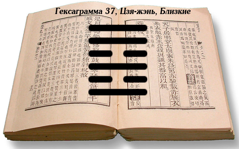 Описание гексаграммы 37 Цзя-жэнь