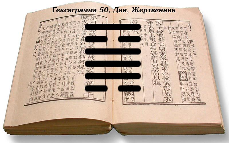 Описание гексаграммы 50 Дин
