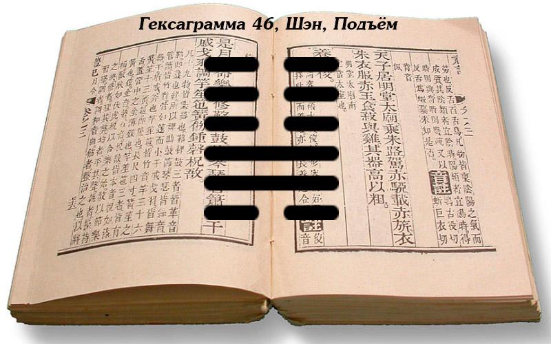 Описание гексакграммы 46 Шэн