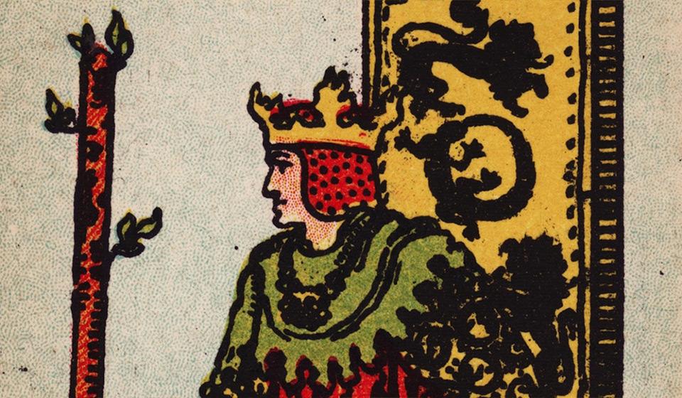 Прямое и перевернутое значение карты Король жезлов