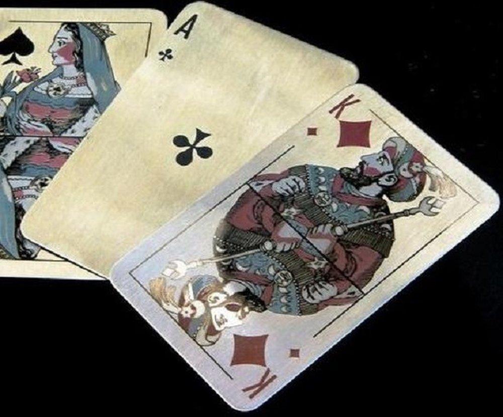 Значение карт в раскладе на короля