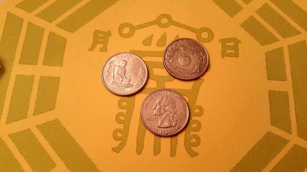 Древнекитайское гадание на монетах