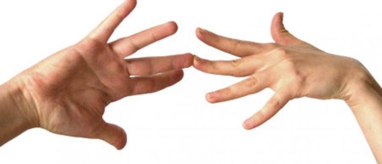 Как гадать по руке на любовь хиромантия