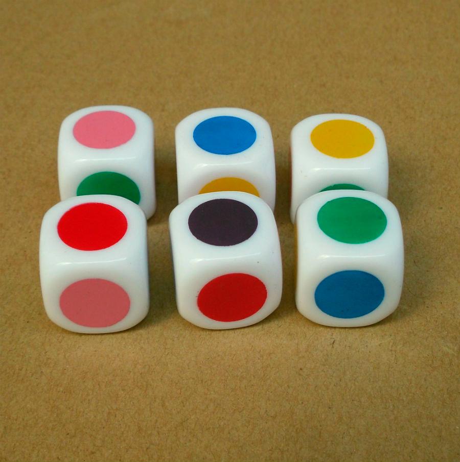 Значение цветов на кубиках
