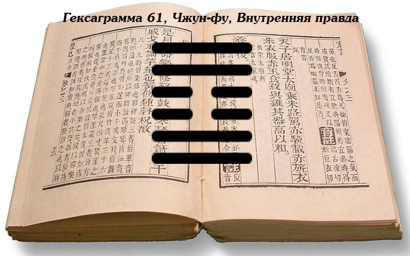 Книга перемен толкование гексаграммы 61