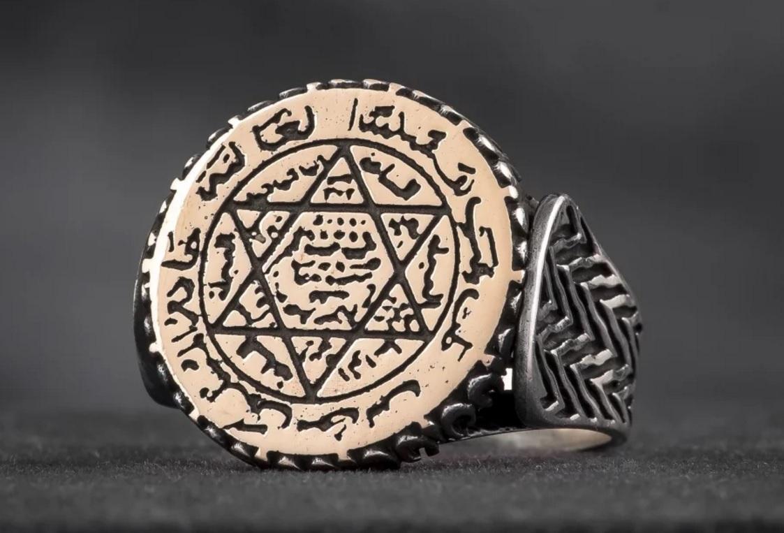Применение амулета печати Соломона