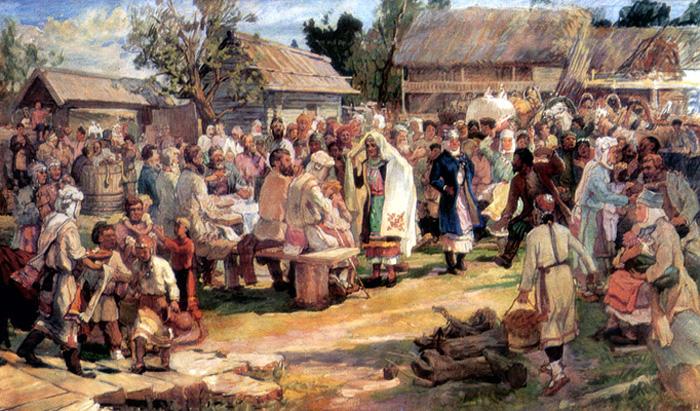 Русские народные праздники и обряды