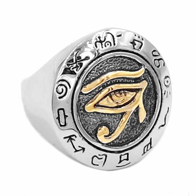Талисман кольцо со всевидящим оком
