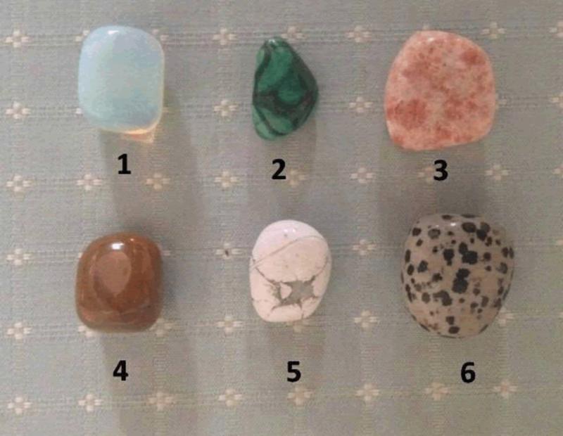 Техника гадания на камнях