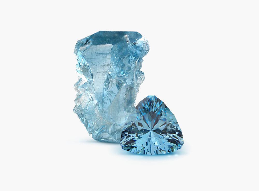 голубой камень камень