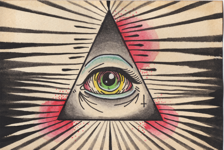 Значение - глаз в треугольнике
