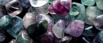 флюорит камень