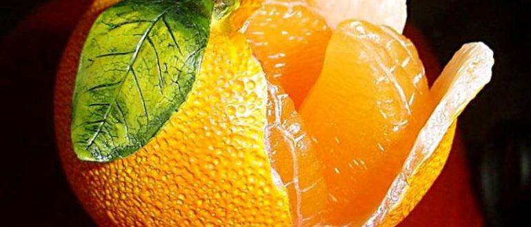 апельсины женщине