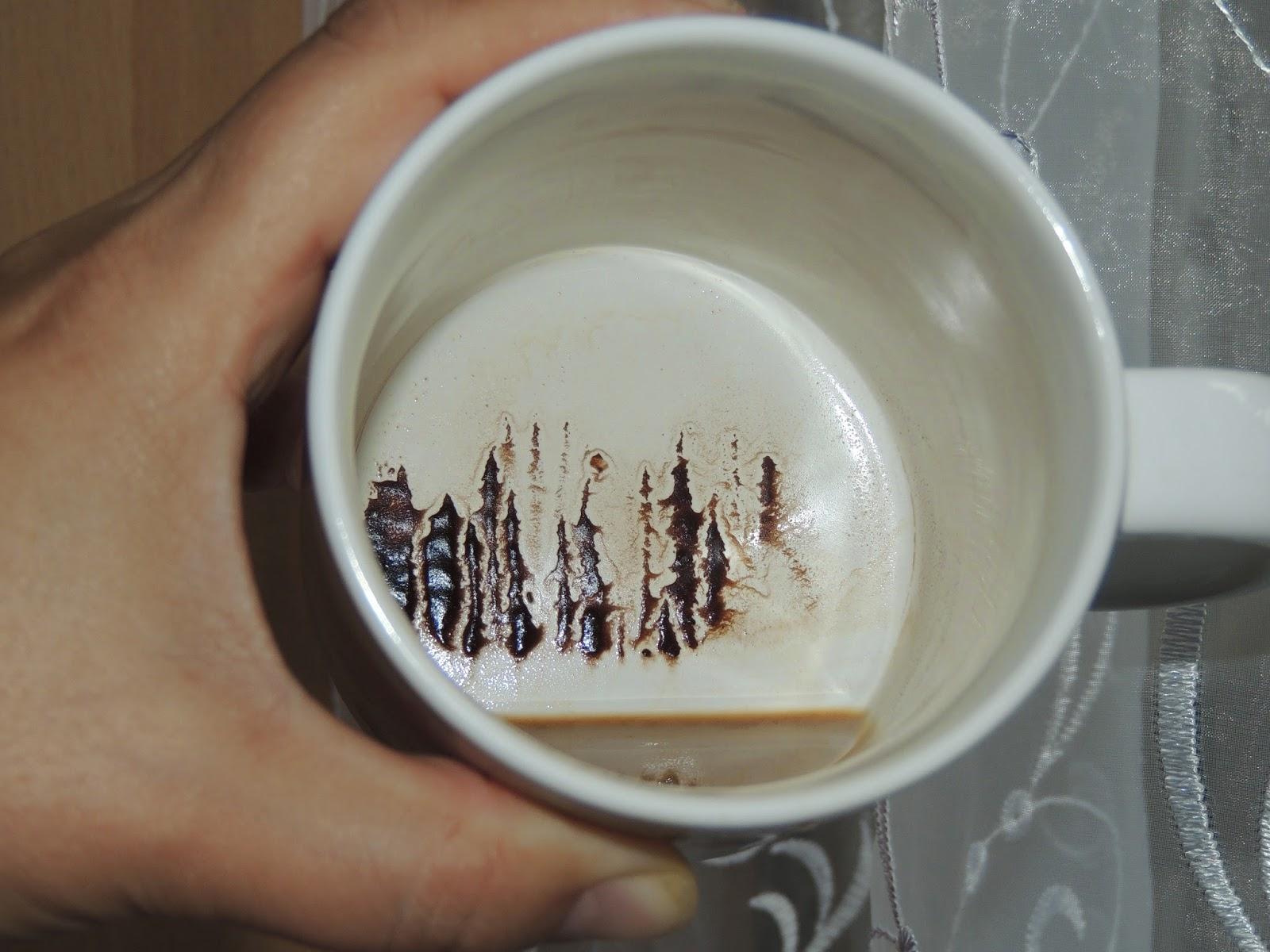 картинки в чашке от гадания на кофейной гуще представляет