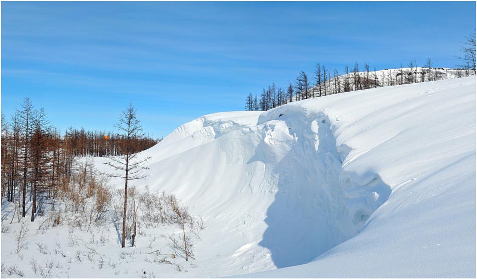 метель и снег