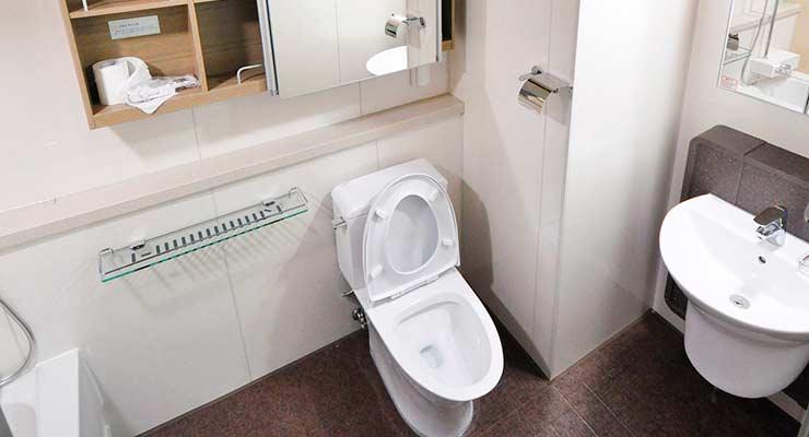 Искать туалет