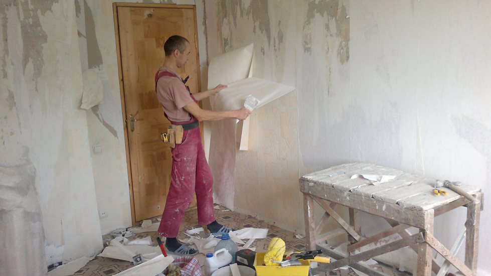 квартира без ремонта