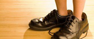 снится грязная обувь