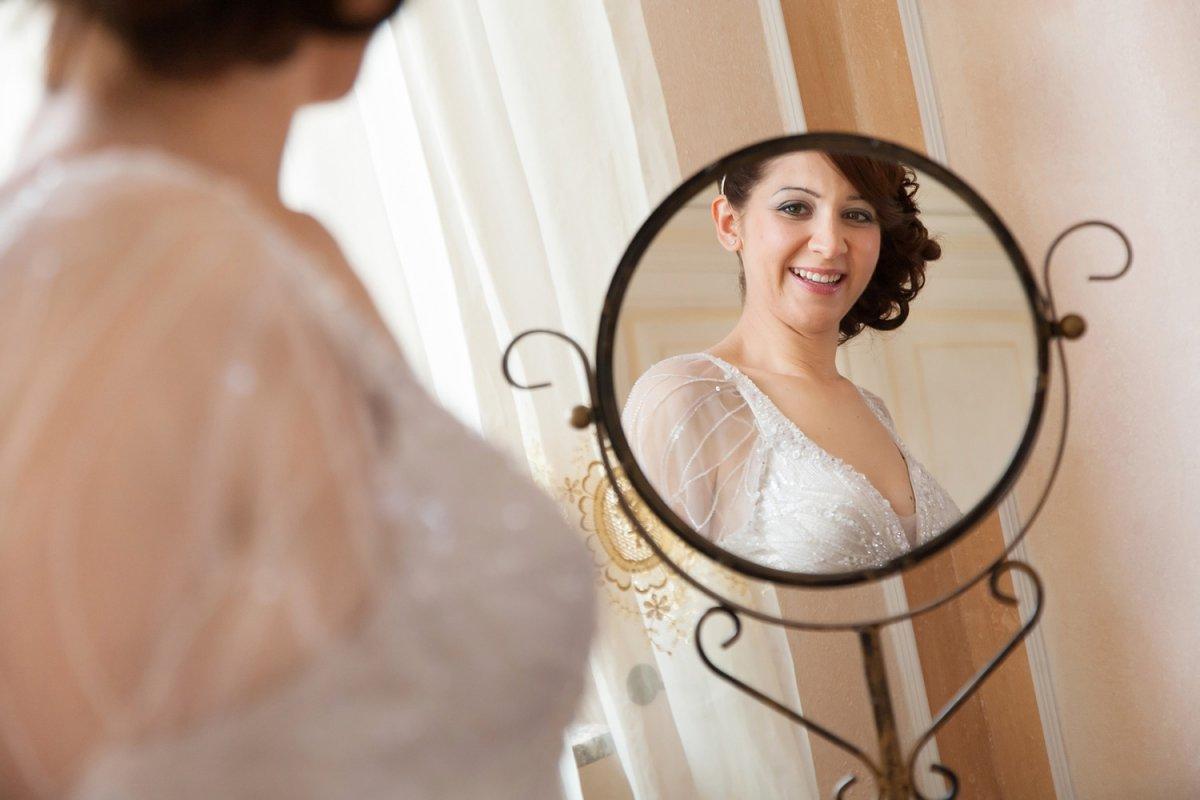Видеть дочь в свадебном платье