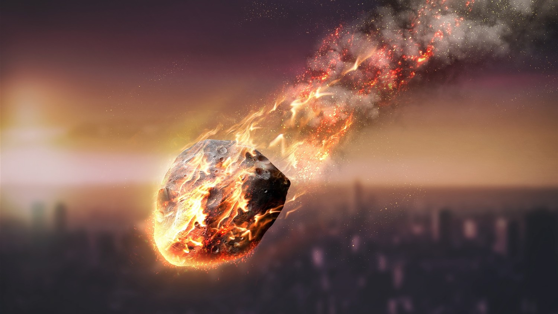 К чему снится падение метеорита