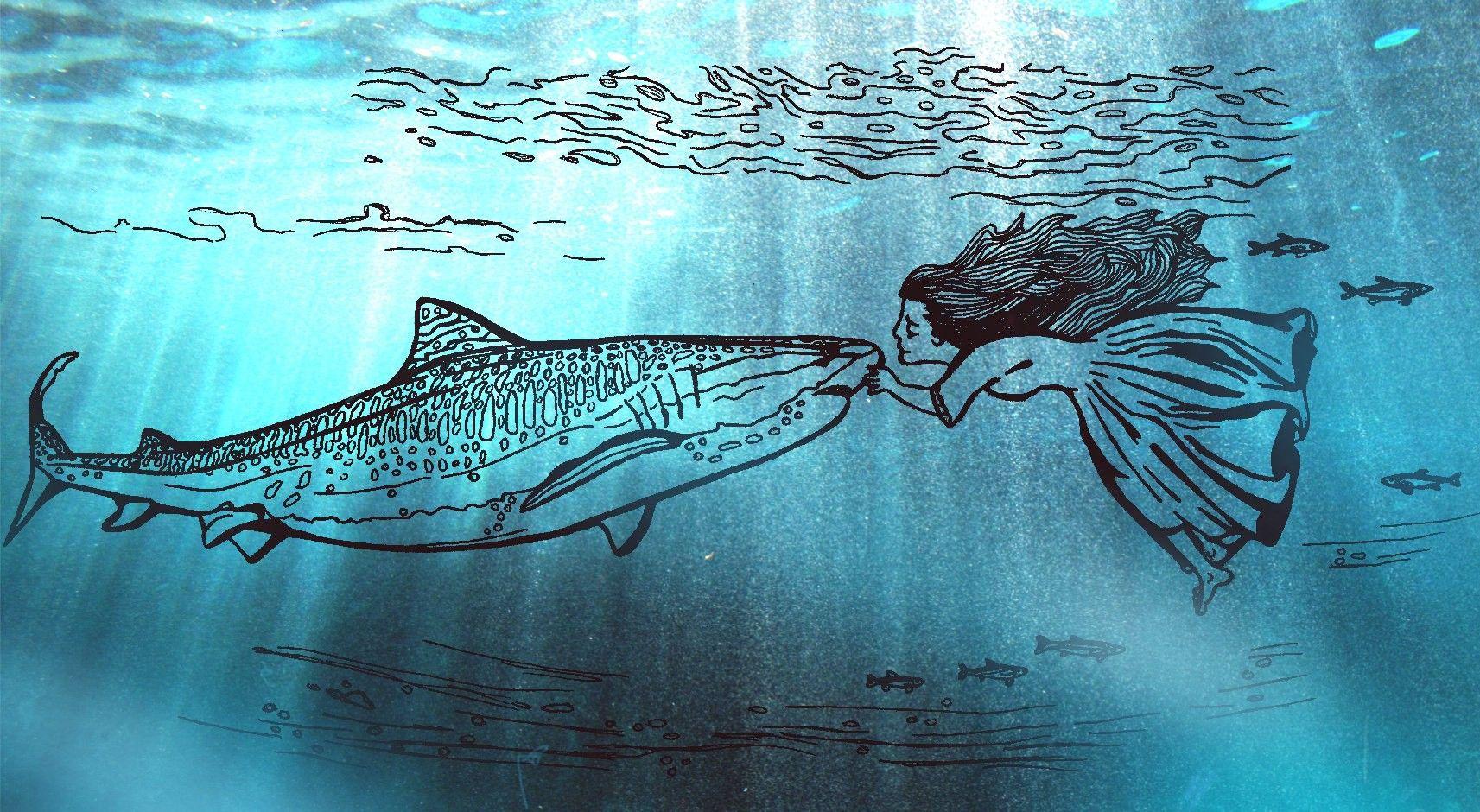 снится плавать с рыбами