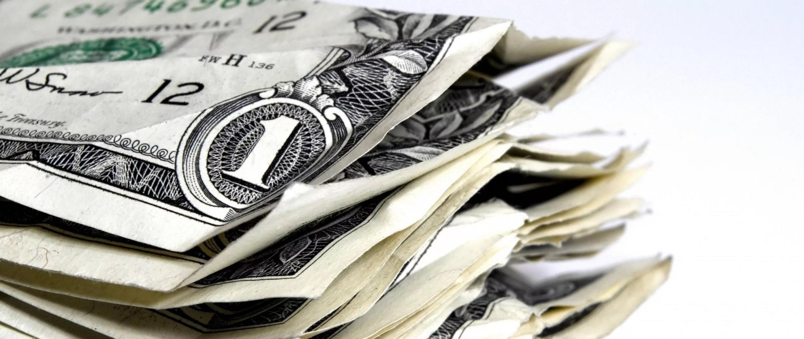 снятся доллары бумажные