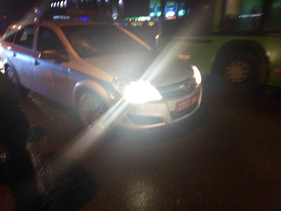 Сбила машина