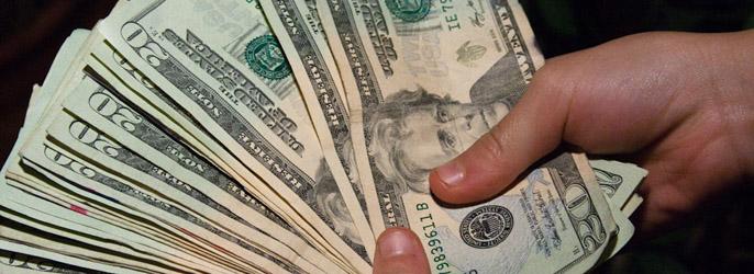 Считать бумажные деньги