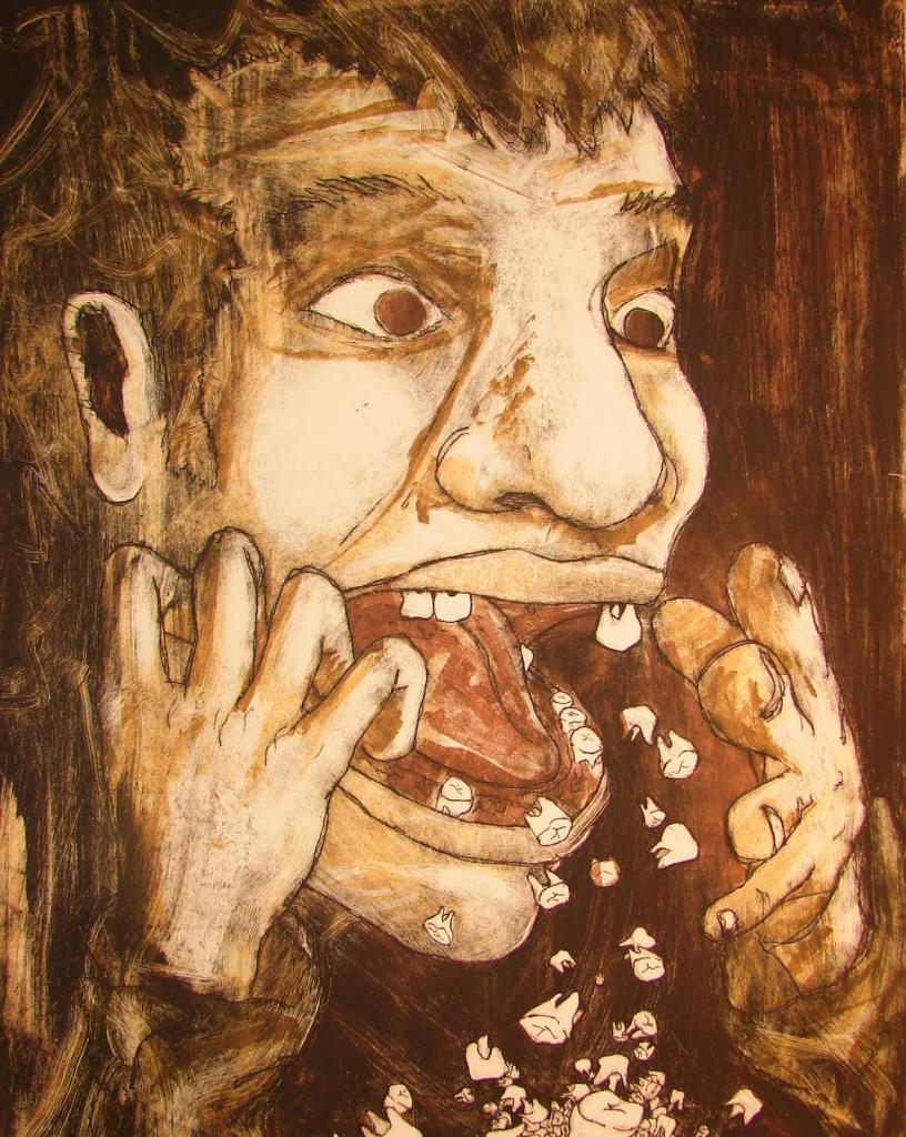 Выпал коренной зуб