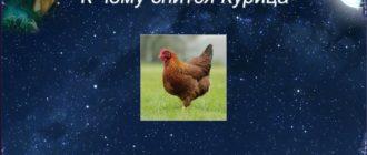 чему снится общипанная курица