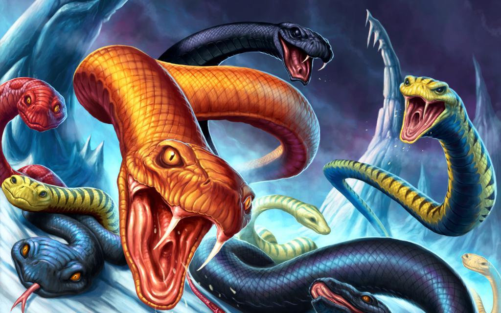 К чему снятся много змей значение для женщины