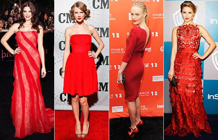 красная одежда